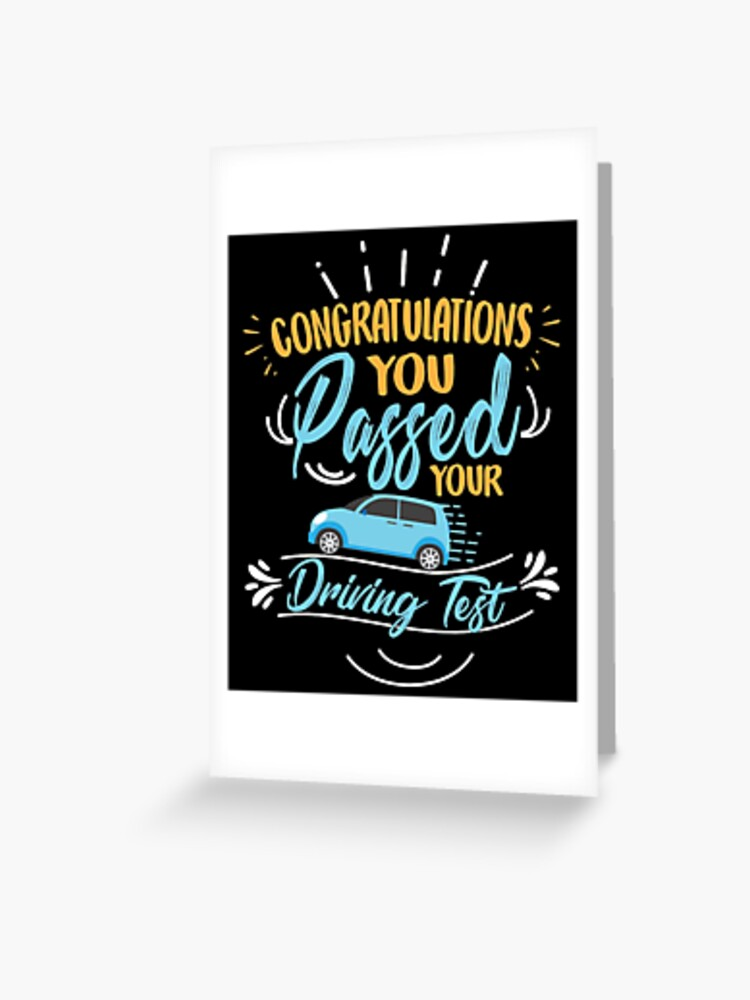Driving Test Pass Acrylic Gift Tag Passed Driving Test Bottle Tag Gift