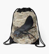 Devil's Coach Horse Beetle Drawstring Bag