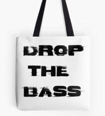 Bolsa de tela Drop the bass