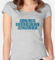 430 Movie - in time Women's Fitted Scoop T-Shirt
