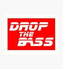 Lámina artística DJ Drop the bass