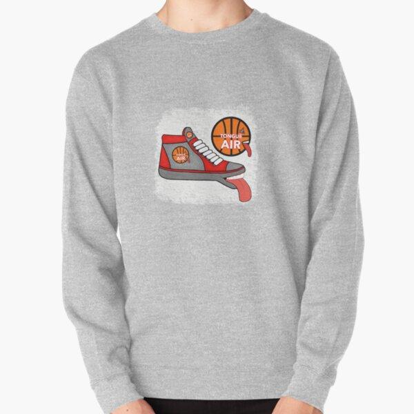 TONGUE AIR BASKETBALL HI-TOPS SHOES Pullover Sweatshirt