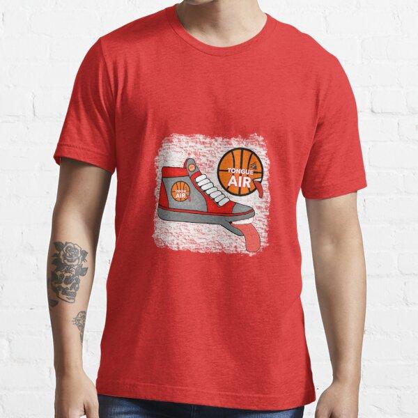 TONGUE AIR BASKETBALL HI-TOPS SHOES Essential T-Shirt