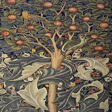 William Morris, beautiful art work of William Morris, nature,tre,apples,floral,fabric pattern, wallpaper,art nouveau, vintage,original by love999