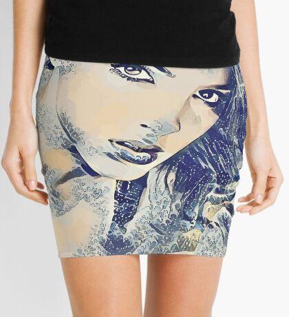 Goddess of the Sea Mini Skirt
