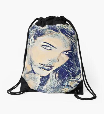 Goddess of the Sea Drawstring Bag