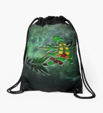 Tribal Mega Sceptile Drawstring Bag