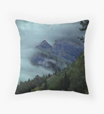 Window in the Clouds Throw Pillow