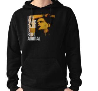 Sudaderas con capucha ligeras «Lou Reed Rock N Roll Animal GRANDE ... 8d2e9bda19b