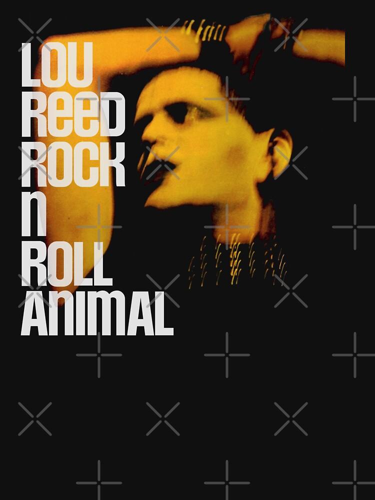 Lou Reed Rock N Roll Animal BIG by RatRock