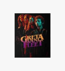 Greta konin Van Fleet 2018 Art Board