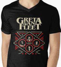 Greta murei Van Fleet 2018 Men's V-Neck T-Shirt