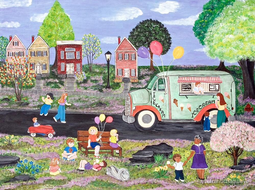"""Ice Cream Truck"" by franticflagwave"