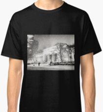 Camiseta clásica Winter Night - 5th Avenue - New York City