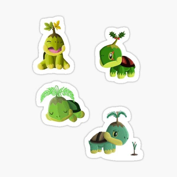 Turtwig Variant Sticker Set Sticker