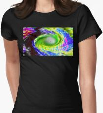 Hurricane Florence Women's Fitted T-Shirt