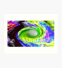 Hurricane Florence Art Print