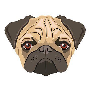 Pug  by giddyaunt