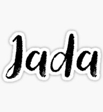 Jada - Custom Girl Name Gifts Sticker