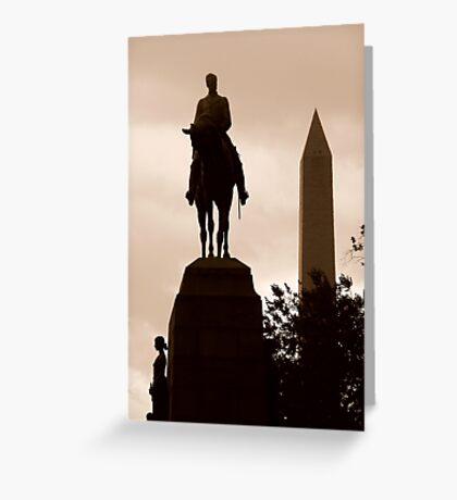Classical Capital ~ Part Five Greeting Card