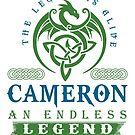 Legend T-shirt - Legend Shirt - Legend Tee - CAMERON An Endless Legend by wantneedlove