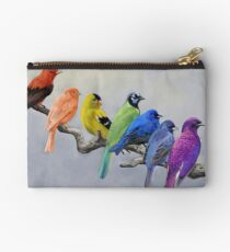 Birds of all Colors Studio Pouch