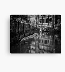 From fell to the River Tyne Canvas Print
