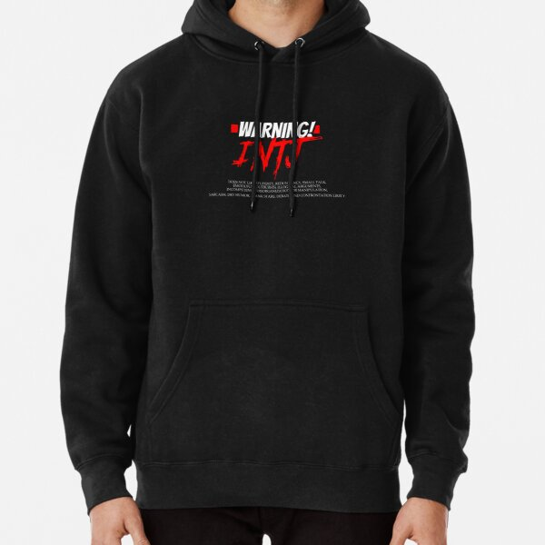 Funny INTJ Warning Impatient Sarcastic Personality Test Tee Pullover Hoodie