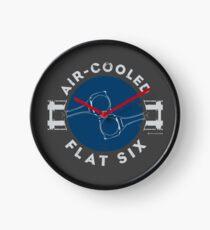Air-Cooled Flat Six - Blue Clock