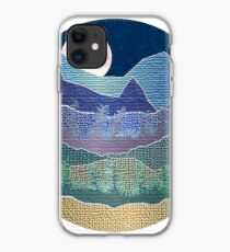 Mountains and Trees  iPhone Case