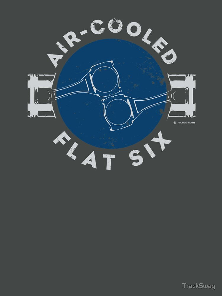 Air-Cooled Flat Six - Blue by TrackSwag
