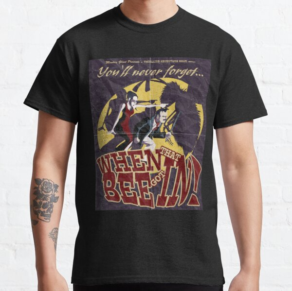 When That Bee Got In! Original Movie Poster Classic T-Shirt