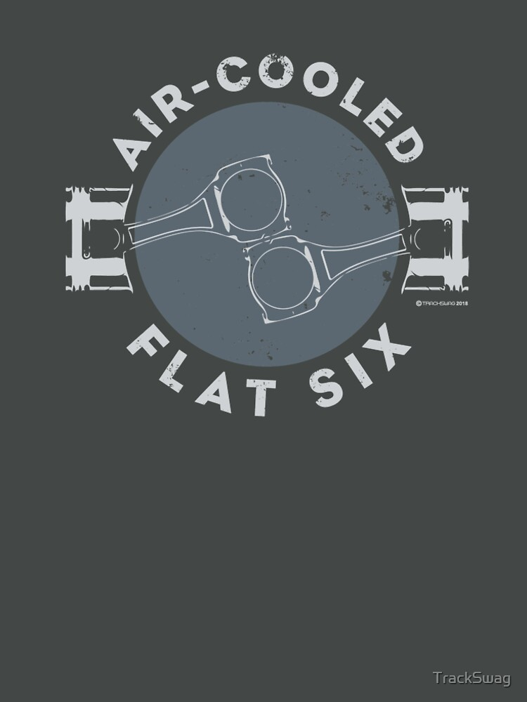 Air-Cooled Flat Six - Grey by TrackSwag