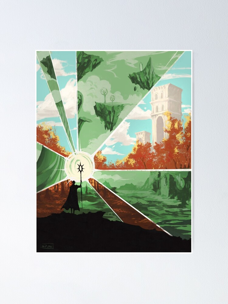 Alternate view of the world that wakes and the world that dreams Poster