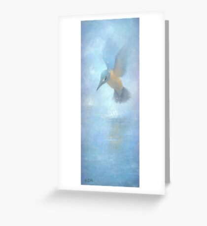 Flame in the Mist Greeting Card