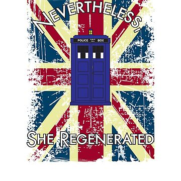 Nevertheless, She Regenerated British Flag by leftty