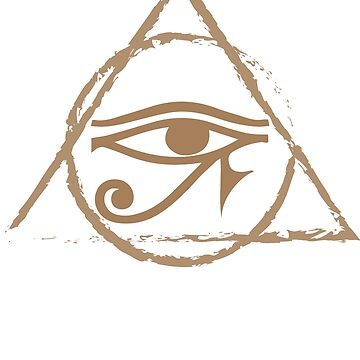 All Seeing Eye of Horus Esoteric by leftty