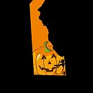 Halloween Outfit Delaware Halloween T Shirt by shoppzee