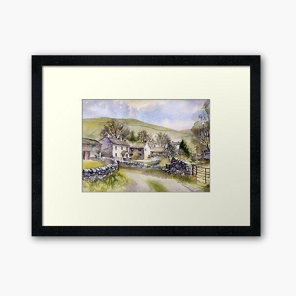 Starbotton, Wharfedale, N Yorkshire Framed Art Print
