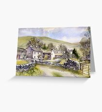 Starbotton, Wharfedale, N Yorkshire Greeting Card