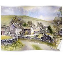 Starbotton, Wharfedale, N Yorkshire Poster
