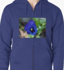 Violet for spring.  Zipped Hoodie