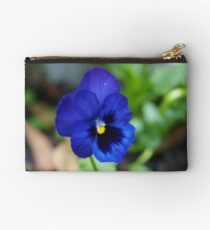 Violet for spring.  Studio Pouch