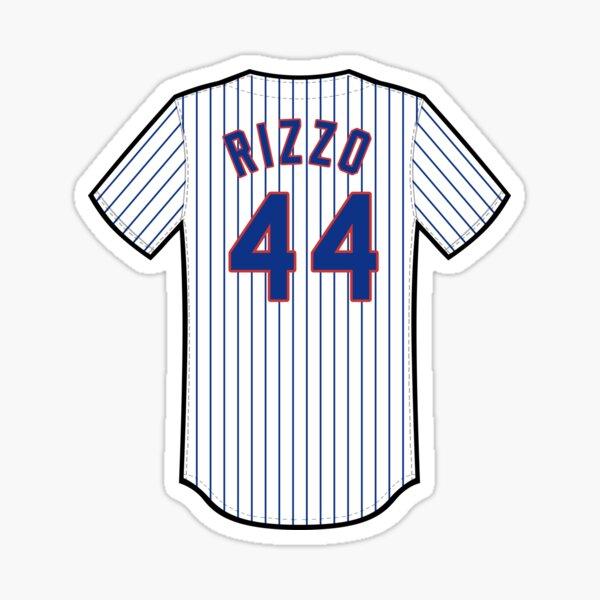 Anthony Rizzo Jersey Sticker