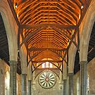The Great Hall, Winchester Castle, southern England by Philip Mitchell