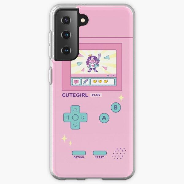 CuteGirl PLUS Phone Case Samsung Galaxy Soft Case