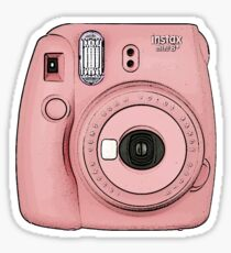 Polaroid camera - Pink Sticker