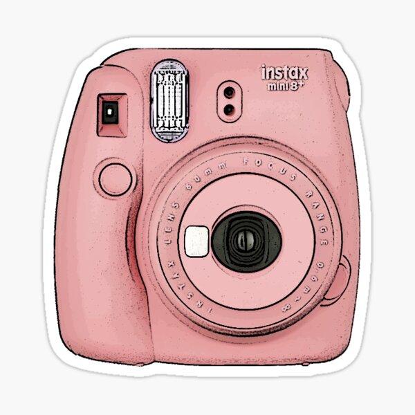 Cámara Polaroid - Rosa Pegatina