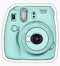 Polaroid Camera - Blue Sticker