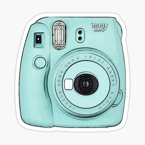 Camera - Blue Sticker